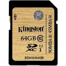 Kingston SDXC 64GB UHS-I Class 10 - Paměťová karta