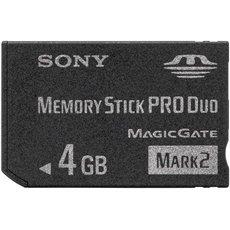 Sony Memory Stick PRO DUO 4GB Mark2 - Paměťová karta