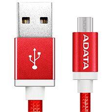 ADATA microUSB 1m červený - Datový kabel