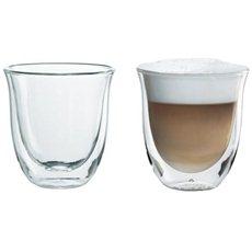 De'Longhi Sada sklenic 2ks Cappuccino 5513214591 - Sklenice na teplé nápoje