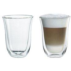 De'Longhi Sada sklenic 2ks Latte macchiato - Sklenice na teplé nápoje