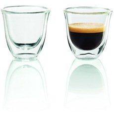 De'Longhi Sada sklenic 2ks Espresso skleničky - Sklenice na teplé nápoje