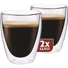 Maxxo Termo skleničky DG830 coffee 2ks - Sklenice na teplé nápoje