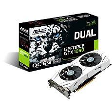 ASUS DUAL GeForce GTX 1060 O6G - Grafická karta