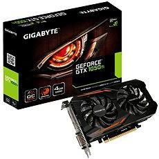 GIGABYTE GeForce GTX 1050 Ti OC 4G  - Grafická karta