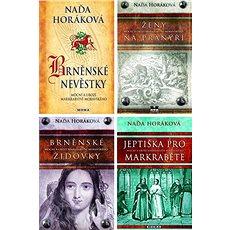 4 historické romány Nadi Horákové za výhodnou cenu - Elektronická kniha -  Naďa Horáková