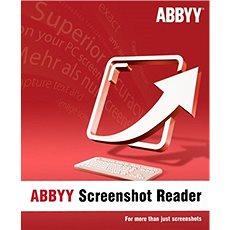 ABBYY Screenshot Reader (elektronická licence) - Software