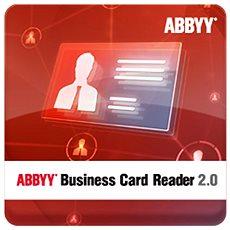 ABBYY Business Card Reader 2.0 for Windows (elektronická licence) - Software
