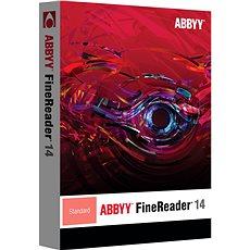 ABBYY FineReader 14 Standard (elektronická licence) - Software OCR