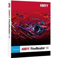 ABBYY FineReader 14 Corporate Upgrade (elektronická licence) - Střihová karta