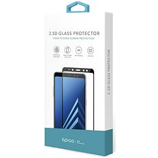 Epico Glass 2.5D pro Huawei P10 Lite, černé - Ochranné sklo
