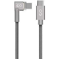 Epico Magnetický USB-C kabel 2m - šedý - Datový kabel