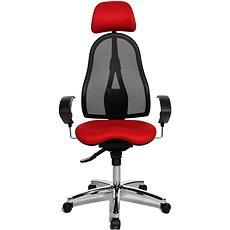 TOPSTAR Sitness 45 červená - Kancelářská židle