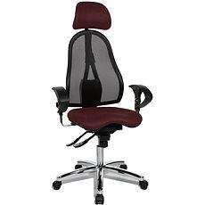 TOPSTAR Sitness 45 bordó - Kancelářská židle