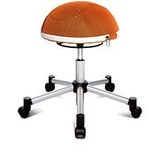 TOPSTAR Sitness Half Ball oranžová - Stolička