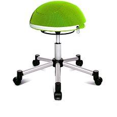TOPSTAR Sitness Half Ball zelená - Stolička