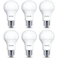 Philips LED 13-100W, E27, 2700K, matná, set 6ks - LED žárovka