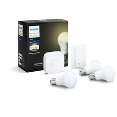 Philips Hue White 8.5W E27 starter kit  - LED žárovka