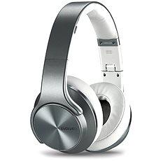 EVOLVEO SupremeSound E9 stříbrno/bílá - Sluchátka s mikrofonem