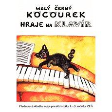 Malý černý kocourek hraje na klavír - Kniha