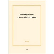 Ročenka pro filosofii a fenomenologický výzkum 2017 - Kniha