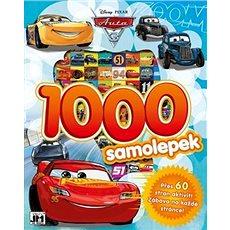 1000 samolepek Auta 3 - Kniha