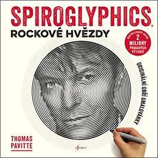 Spiroglyphics Rockové hvězdy: Originální obří omalovánky - Kniha