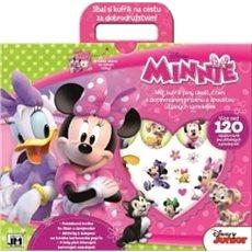 Zábavný kufřík Minnie - Kniha