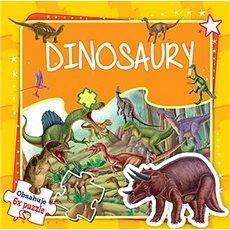 Dinosaury: Obsahuje 6x puzzle - Kniha