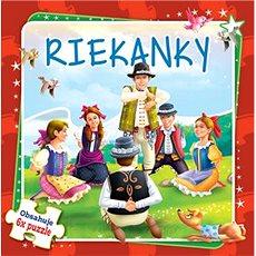 Riekanky: Obsahuje 6x puzzle - Kniha