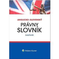Anglicko-slovenský právny slovník - Kniha