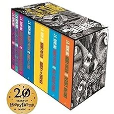 Harry Potter Boxed Set: The Complete Collection Adult Paperback: Contains: Philosopher's Stone / Cha - Kniha