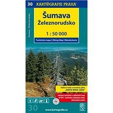 Šumava Železnorudsko: Turistická mapa č. 30 1:50 000 - Kniha