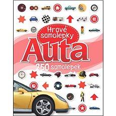 Auta Hravé samolepky: 250 samolepek - Kniha