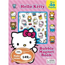 Hraj si s magnety Hello Kitty - Kniha