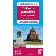 Církevní památky České republiky: 1: 500 000 - Kniha