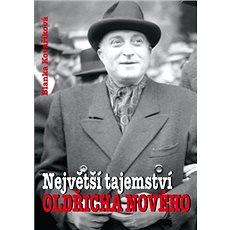 Největší tajemství Oldřicha Nového - Kniha