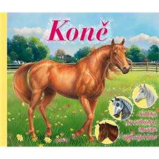 Koně: 6 šablon pro nakreslení obrázků nádherných koní - Kniha