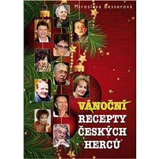 Vánoční recepty českých herců - Kniha