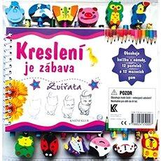 Kreslení je zábava Zvířata - Kniha