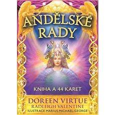 Andělské rady: Kniha a 44 karet - Kniha