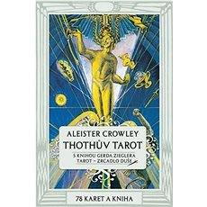 Thothův Tarot: Kniha a 78 karet (70x110mm), Zrcadlo duše - Kniha