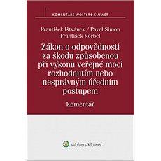 Zákon o odpovědnosti za škodu způsobenou při výkonu veřejné moci rozhodnutím - Kniha