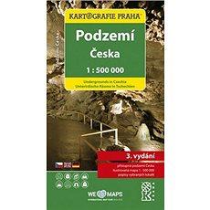 Podzemí Česka 1:500 000: Tematická mapa - Kniha