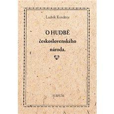O hudbě československého národa - Kniha