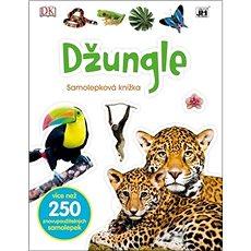 Džungle: Samolepková knížka - Kniha