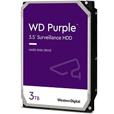 WD Purple 3TB - Pevný disk