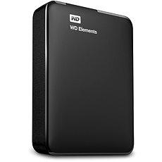 """WD 2.5"""" Elements Portable 4TB černý - Externí disk"""