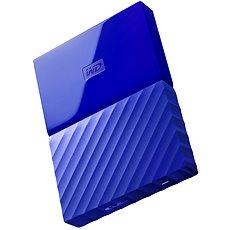 "WD 2.5"" My Passport 1TB modrý - Externí disk"