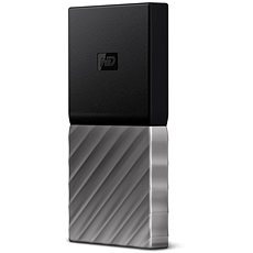 "WD 2.5"" My Passport SSD 256GB Silver/Black - Externí disk"